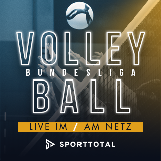 Volleyball live und on Demand auf sporttotal.tv