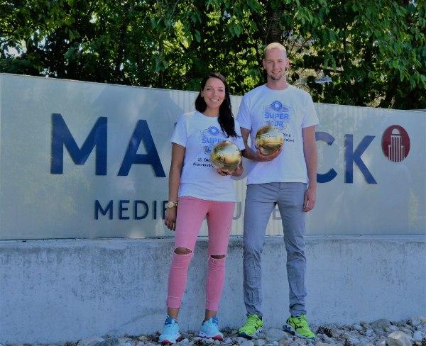 ViB24.TV-Volleyball Kathraina Schwabe und Sebastian Kühner Hannover