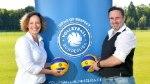 Katharina Keil und Michael Kirchner von Sports&Travel organisieren Reisen für die Volleyball Bundesliga (Foto: www.mowy.de)