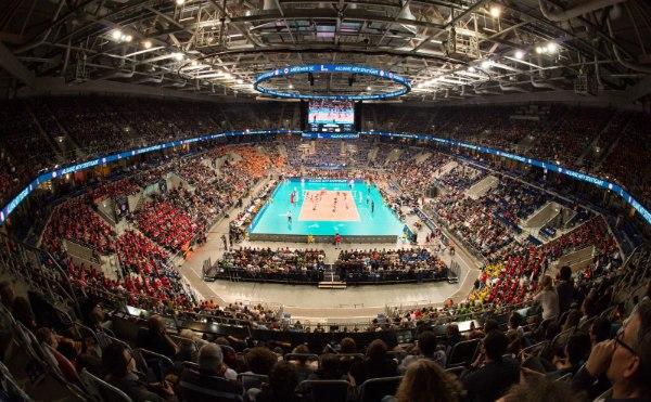 Am Wochenende wird die SAP Arena wieder sehr gut gefüllt sein. Derzeit gibt es noch Tickets für das DVV-Pokalfinale (Foto: Conny Kurth, www.kurth-media.de)