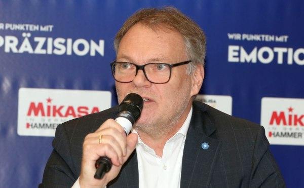 Klaus-Peter Jung, Geschäftsführer der Volleyball Bundesliga (Foto: Photo Wende)