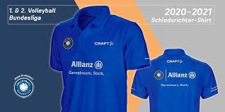 VBL-Schiedsrichter Trikots 2020/21 | Co-Branding