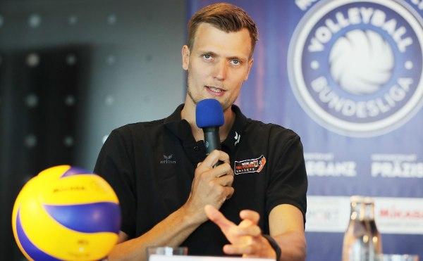 Robert Kromm, der Kapitän der BR Volleys (Foto: Photo Wende, photowende.com)