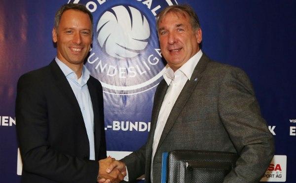 Oliver Beyer und Michael Evers freuen sich auf die Saison 2016/17 (Foto: Photo Wende, www.photowende.com)