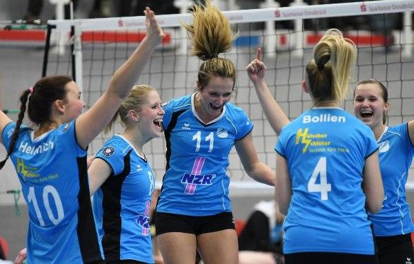 ViB24.TV Volleyball Frauen Bad Laer- Allbau Essen