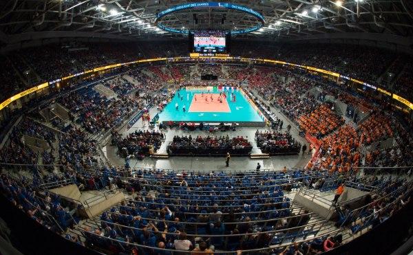 12.000 Zuschauer waren beim Pokalfinale 2016 live in der SAP Arena in Mannheim dabei (Foto: Conny Kurth, www.kurth-media.de)