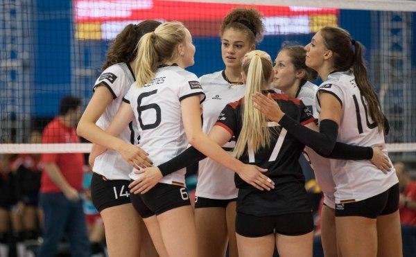 Bei den deutschen Frauen gab es in den letzten Wochen häufig Grund zur Freude (Foto: FIVB/Derek Stevens)