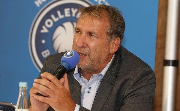 VBL-Präsident Michael Evers äußerst sich zum Thema Wildcard (Foto: Photo Wende)