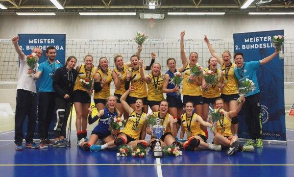 ViB24.TV Auch in der kommenden Saison streben die Kölnerinnen die Meisterschaft an (Foto: Anna Kadlec)
