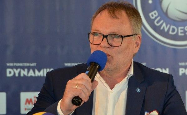 Klaus-Peter Jung, Geschäftsführer der Volleyball Bundesliga (Foto: SAS/VBL)