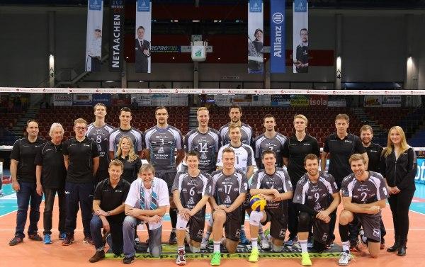 Die SWD powervolleys Düren stehen im Playoff-Halbfinale um die Meisterschaft (Foto: Guido Jansen)