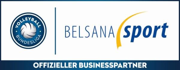 BELSANA sport ist neuer Businesspartner der Volleyball Bundesliga (Quelle: VBL)