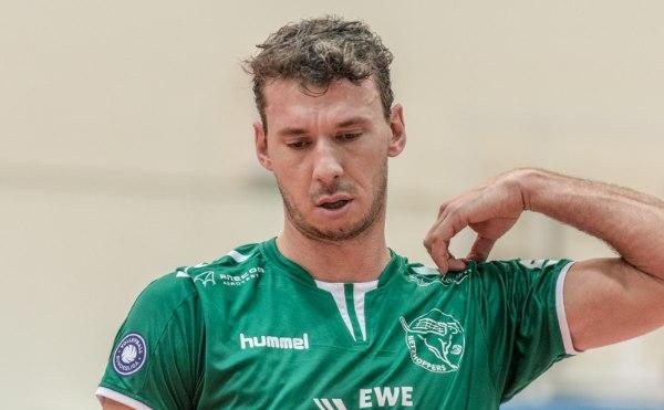 Björn Andrae kam aufgrund seiner Knieprobleme nicht während des kompletten Spiels zum Einsatz (Foto: Gerold Rebsch, www.beachpics.de)